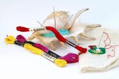 Composição do algodão Imagens de Stock Royalty Free