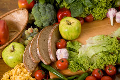 Composição do alimento foto de stock royalty free