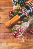 Composição do ano novo/Natal Fotografia de Stock