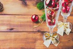 Composição do ano novo/Natal Foto de Stock Royalty Free