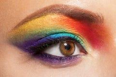 Composição do arco-íris Foto de Stock Royalty Free