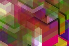 Composição do Colorist para a parede do colorist Imagens de Stock Royalty Free