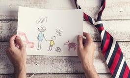 Composição do dia de pais Fotografia de Stock