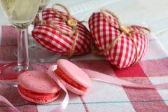 A composição do dia de Valentim Fotos de Stock Royalty Free