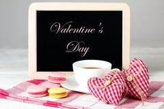 A composição do dia de Valentim Foto de Stock