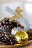 Composição do Natal Fotografia de Stock
