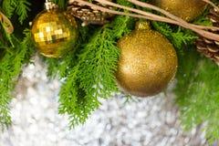 Composição do Natal Imagens de Stock Royalty Free
