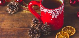 Composição do Natal Fotos de Stock Royalty Free