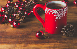 Composição do Natal Imagem de Stock