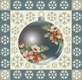 Composição do Natal. Cartão. Foto de Stock Royalty Free