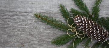 Composição do Natal na placa da textura imagens de stock