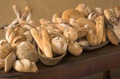 Composição do pão Imagens de Stock