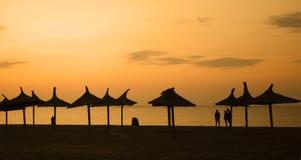 Composição do por do sol Fotografia de Stock Royalty Free