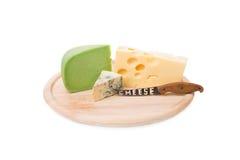 Composição do queijo Imagens de Stock Royalty Free