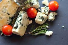 Composição do queijo do roquefort Imagem de Stock Royalty Free