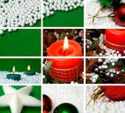 Composição do tema do Natal Foto de Stock