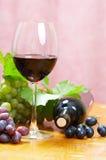 Composição do vinho imagens de stock