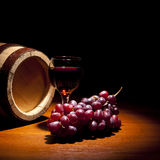Composição do vinho Foto de Stock