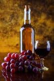 Composição do vinho Fotos de Stock