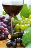 Composição do vinho fotografia de stock