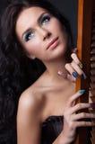 Composição e manicure coloridos profissionais Foto de Stock Royalty Free