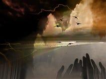 Composição espiritual Fotos de Stock