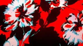 Composição estrutural brilhante das flores Fotografia de Stock Royalty Free
