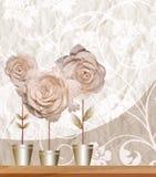 Composição floral Fotografia de Stock