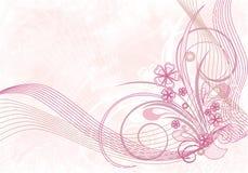Composição floral Ilustração Stock