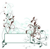Composição floral de Grunge Fotos de Stock