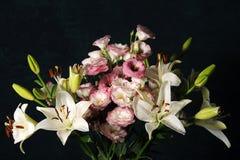 Composição floral elegante Foto de Stock