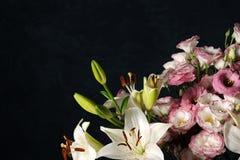 Composição floral elegante Fotografia de Stock Royalty Free