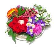 Composição floral outonal Imagem de Stock