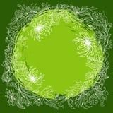 Composição floral redonda Fotografia de Stock