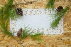 Composição Floristic - cartão Foto de Stock