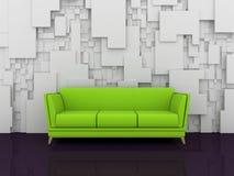 Composição interior abstrata Fotografia de Stock Royalty Free