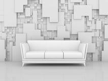 Composição interior abstrata Imagens de Stock