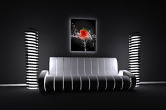 Composição interior colorida Imagem de Stock Royalty Free