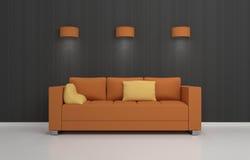 Composição interior moderna Imagem de Stock Royalty Free