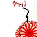Composição japonesa Ilustração Stock