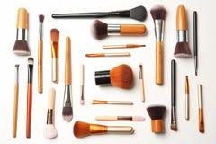 Composição lisa da configuração com escovas da composição Imagem de Stock