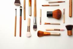 Composição lisa da configuração com escovas da composição Imagem de Stock Royalty Free