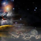 Composição místico da paisagem Foto de Stock Royalty Free