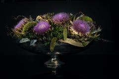 Composição moderna da flor Foto de Stock Royalty Free