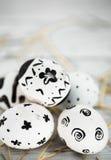 composição preto e branco da Páscoa Foto de Stock