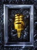 Composição retro do vintage com shell no quadro Imagens de Stock