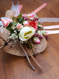 Composição secada das flores Foto de Stock Royalty Free