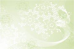 Composição verde Fotografia de Stock Royalty Free