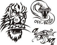 Composições 2. Off-Road. ilustração stock