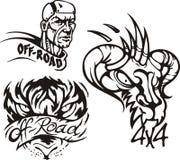 Composições 4. Off-Road. ilustração royalty free